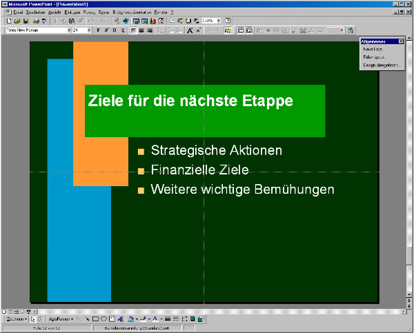 Powerpoint 97 design